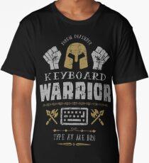 Keyboard Warrior Long T-Shirt