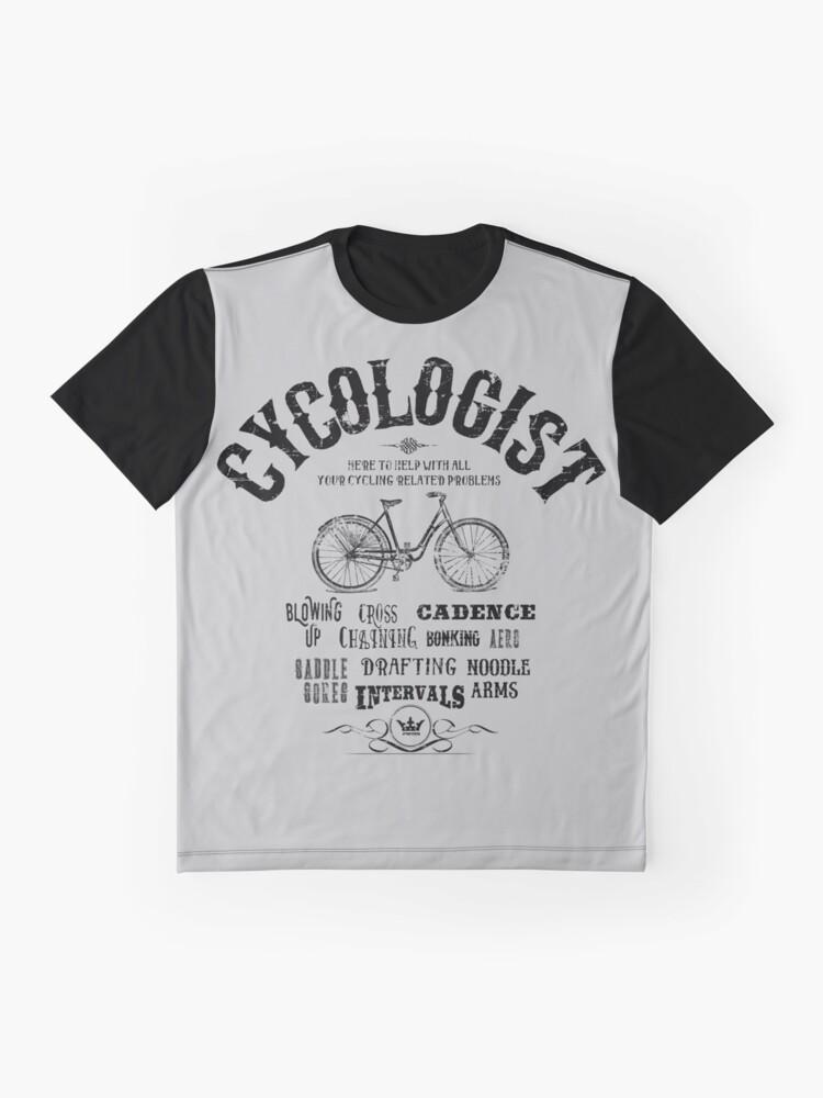 Alternative Ansicht von Cycologe Grafik T-Shirt