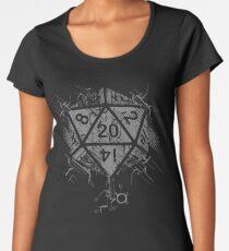 D20 Of Power Women's Premium T-Shirt