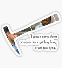 The Shawshank Redemption Quote Sticker