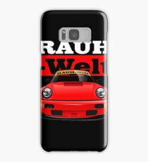 Rauh Welt Begriff Red Big Samsung Galaxy Case/Skin