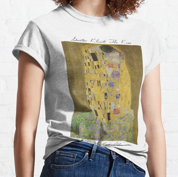 Respiración de Arte | Gustav Klimt - El beso Camiseta clásica