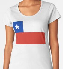 Chile Flag Products Women's Premium T-Shirt