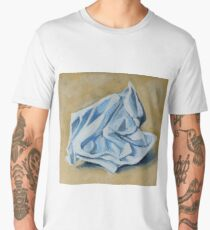 Crumpled Paper Men's Premium T-Shirt