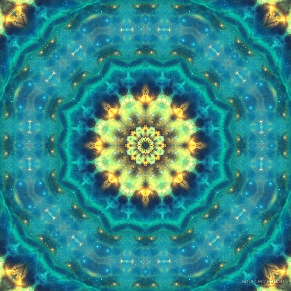 Hidden Lotus Mandala by sourcecreation