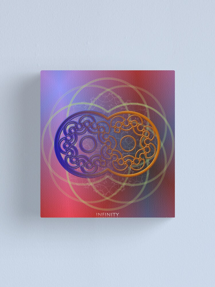 Alternate view of Infinity Canvas Print