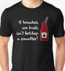 Ketchup=Smoothie < Tomato=Fruit  > Funny Tomato T-Shirt