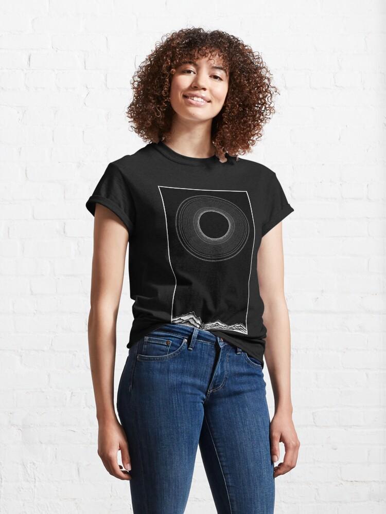 Alternate view of Black sun Classic T-Shirt