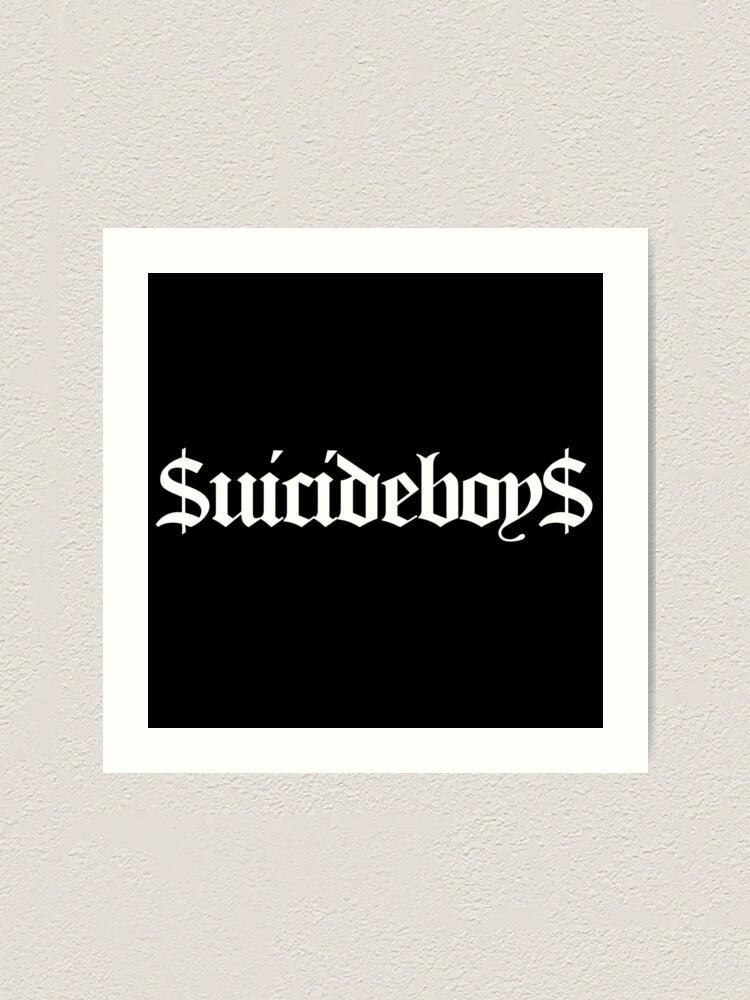 Alternate view of suicideboys merchandise Art Print