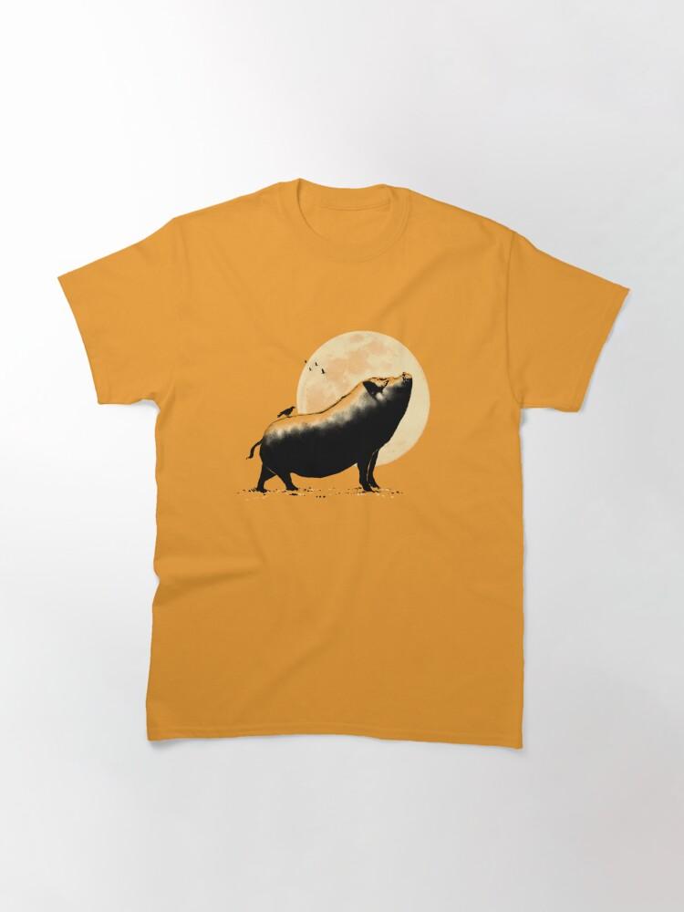 Alternate view of Barking pig Classic T-Shirt