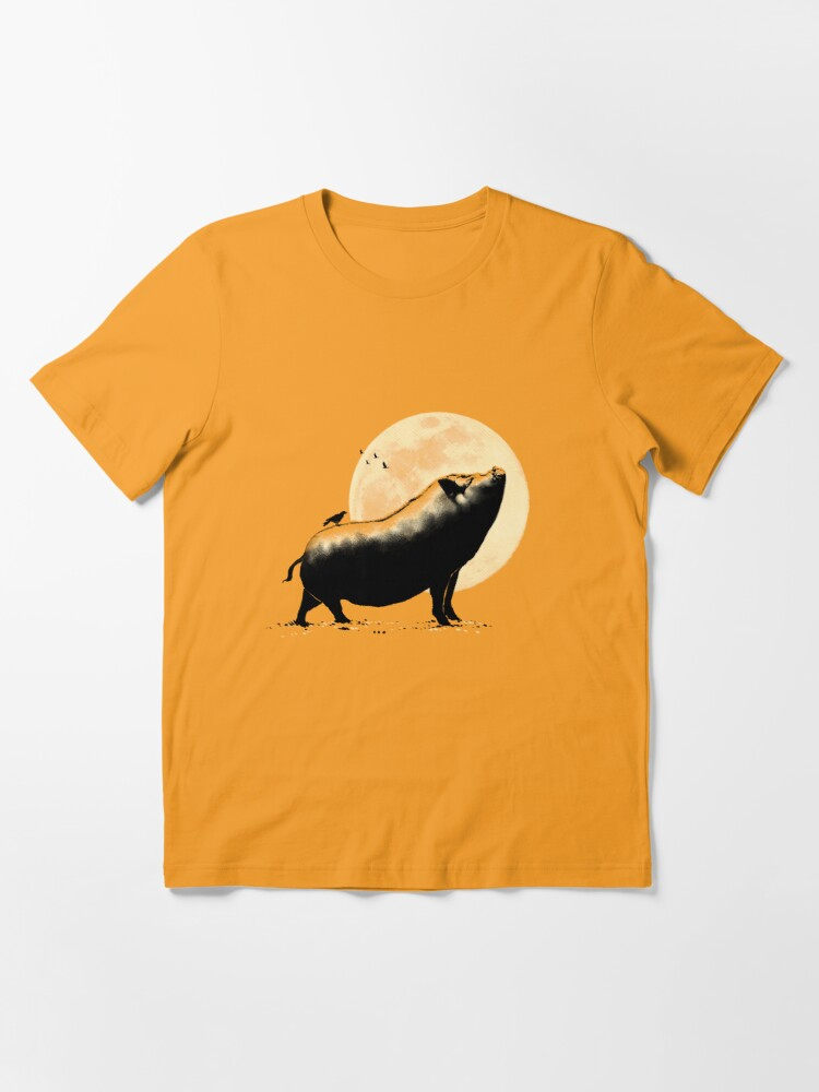 Alternate view of Barking pig Essential T-Shirt