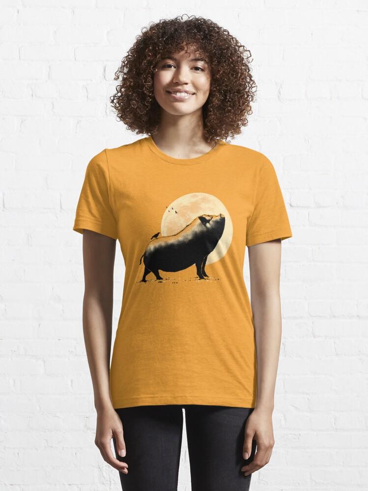 Alternate view of Barking pig Essential T-Shirt