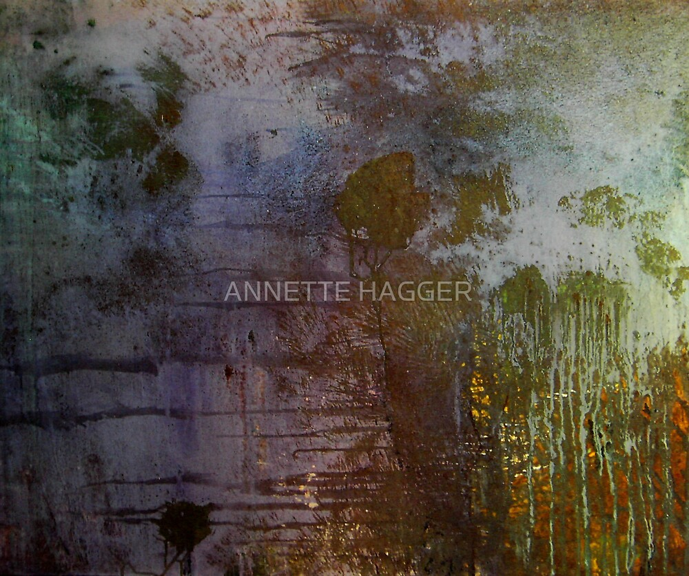 ALONE IN THE LANDSCAPE by ANNETTE HAGGER