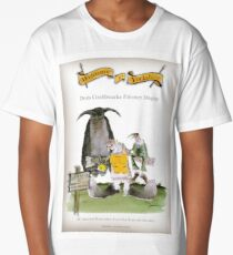 Funny Yorkshire Falconry Display Long T-Shirt