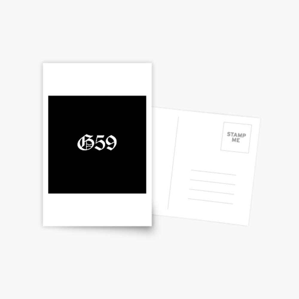Mercancía G59 Postal