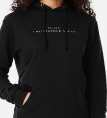 Directed by Christopher Nolan Lightweight Hoodie