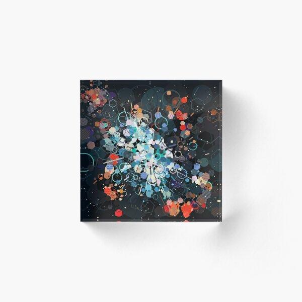 Galaxy Acrylic Block