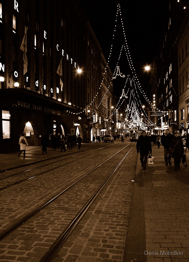 "City Life - ""X-mas Coming"" by Denis Molodkin"
