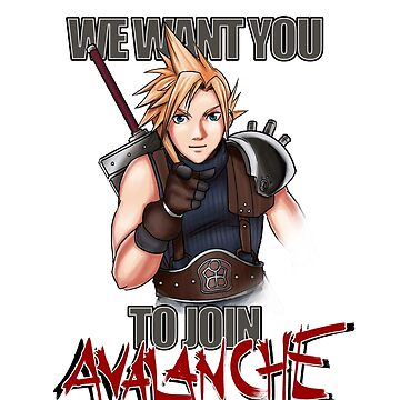 We want you for Avalanche! by roydgriffin