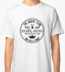 The Losers' Club Emblem - Black Text Classic T-Shirt