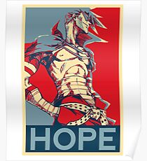 Kamina Hope Gurren Lagann Poster