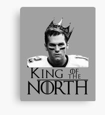 king of the north Canvas Print