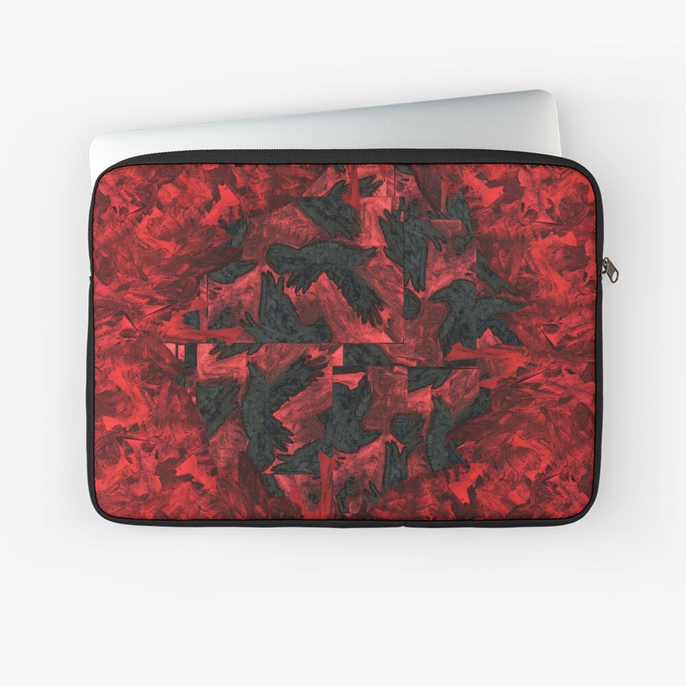 Ravens and Crows Laptop Sleeve
