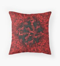 Ravens and Crows Throw Pillow