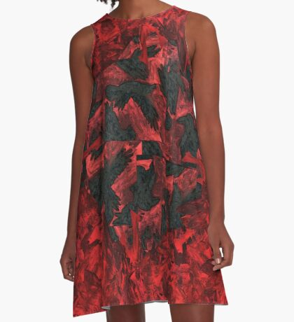 Ravens and Crows A-Line Dress