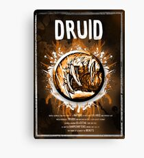 Druid Canvas Print