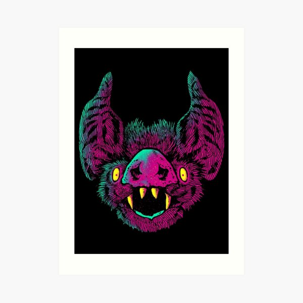 obvious bat Art Print