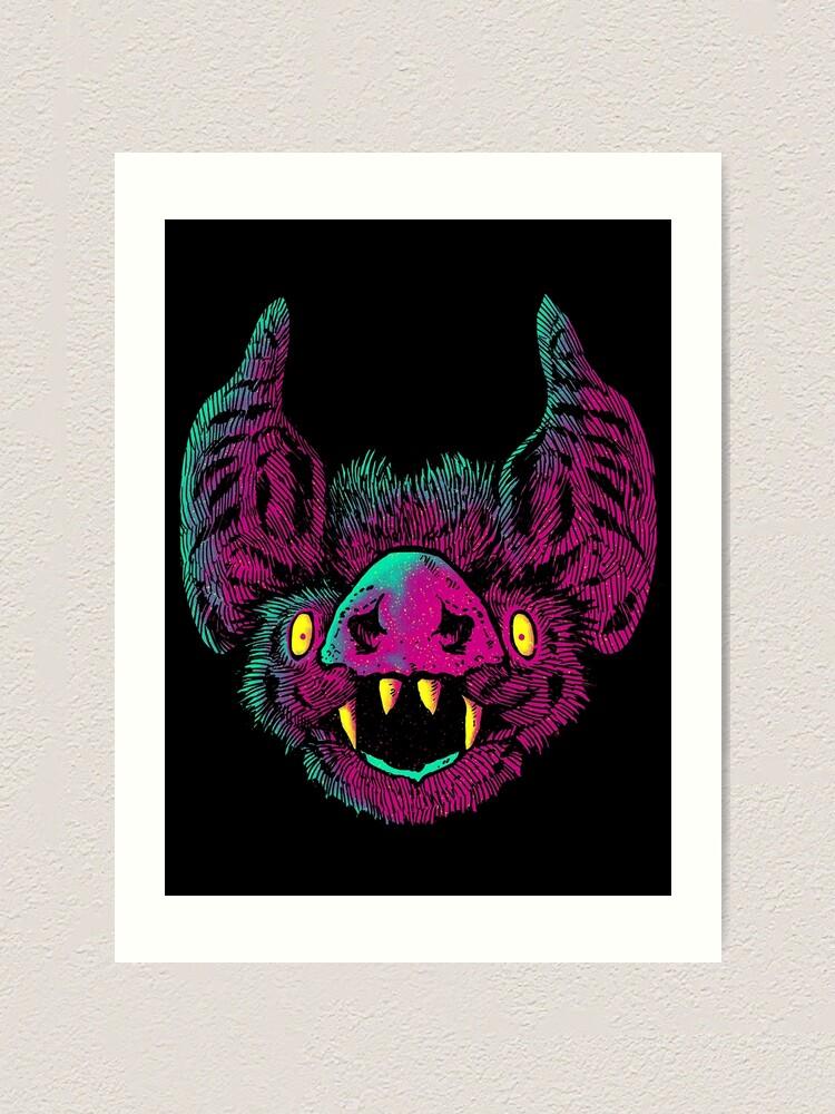 Alternate view of obvious bat Art Print