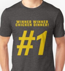 WINNER WINNER CHICKEN DINNER! PubG Unisex T-Shirt