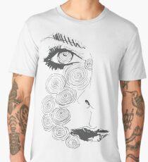 Swirly Tears Men's Premium T-Shirt