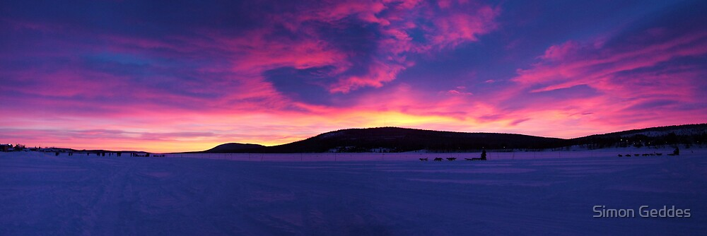 Artic Sunrise by Simon Geddes