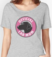 Official Lab Mom Women's Relaxed Fit T-Shirt