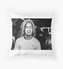 Lil Pump Potriat Throw Pillow