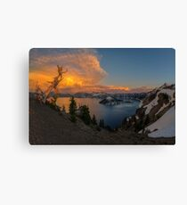 Crater Lake, Oregon Canvas Print