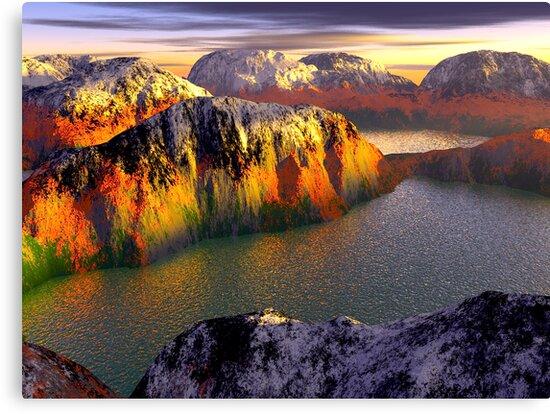«Mountains of Attika» de newbeltane