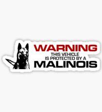 Belgian shepherd - Malinois  Sticker