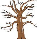 Old tree by rowanfrosty