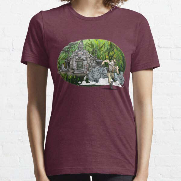 Temple Escape (By Richard Wallace) Essential T-Shirt