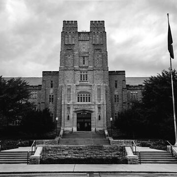 Virginia Tech Burruss Hall by ethancandy