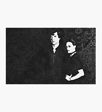 The Woman and the Consulting Detective Photographic Print