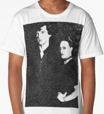 The Woman and the Consulting Detective Long T-Shirt