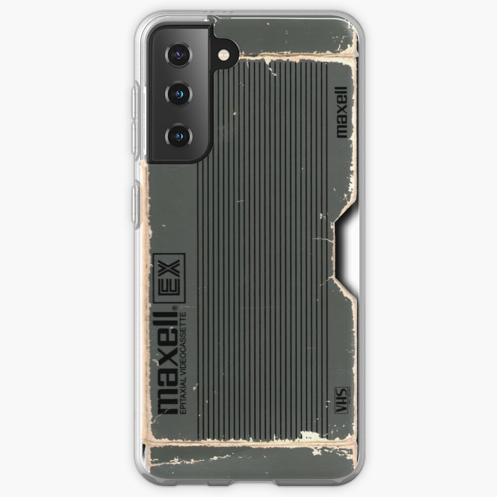 Maxell 120 Vhs Case & Skin for Samsung Galaxy
