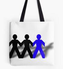 Group Man Blue Tote Bag