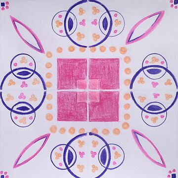 Rose - Inspired by Azulejos  by samby
