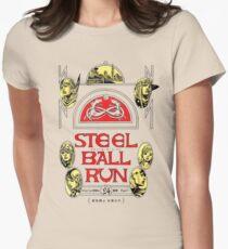Steel Ball Run #24 Women's Fitted T-Shirt