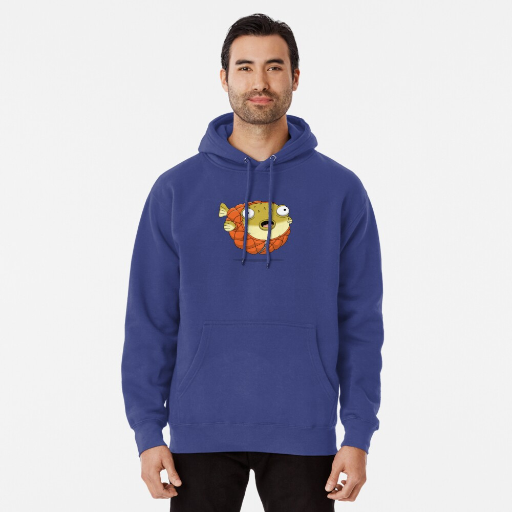 Puffer fish Pullover Hoodie